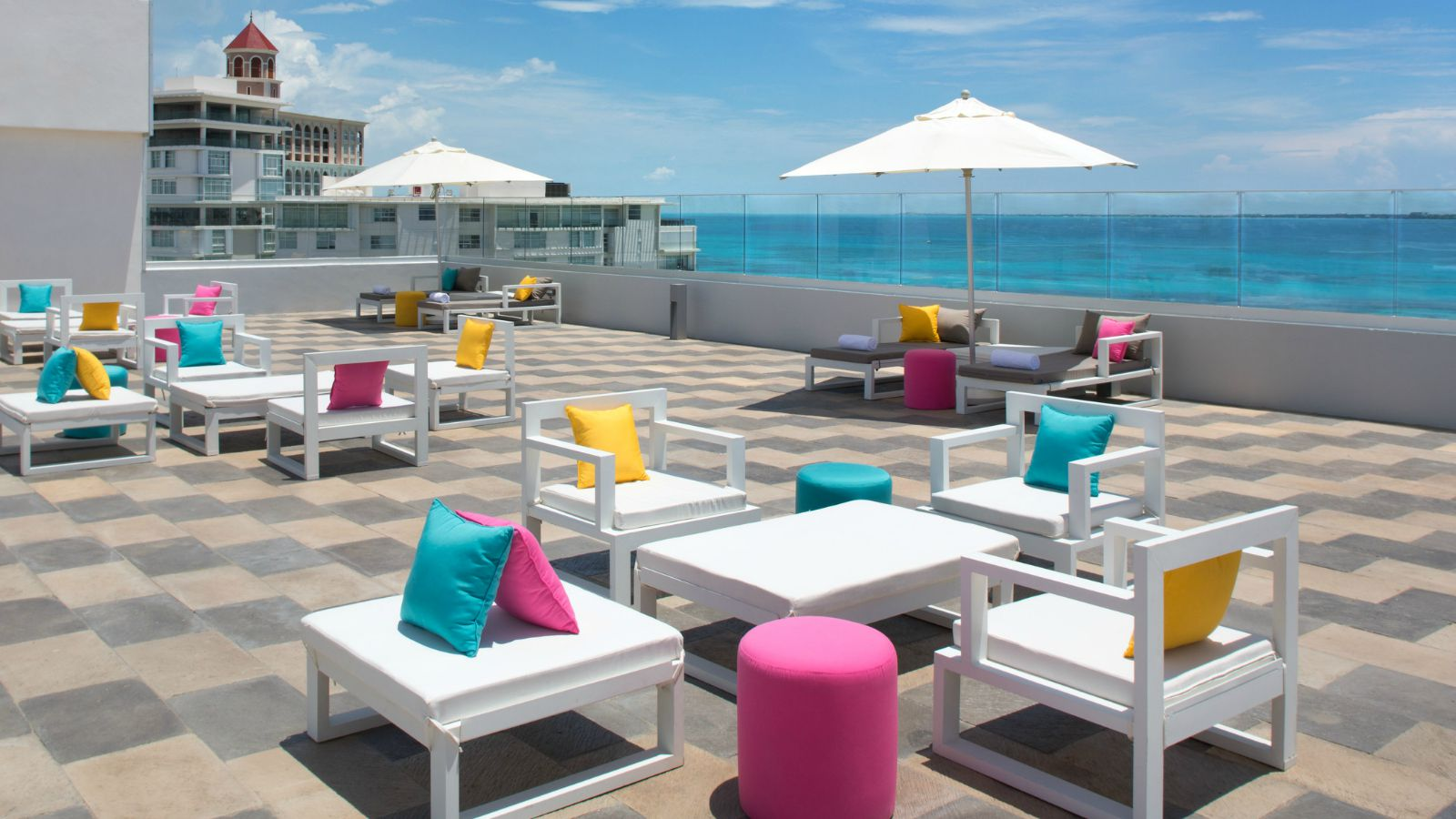 Aloft Cancun - Roof Garden